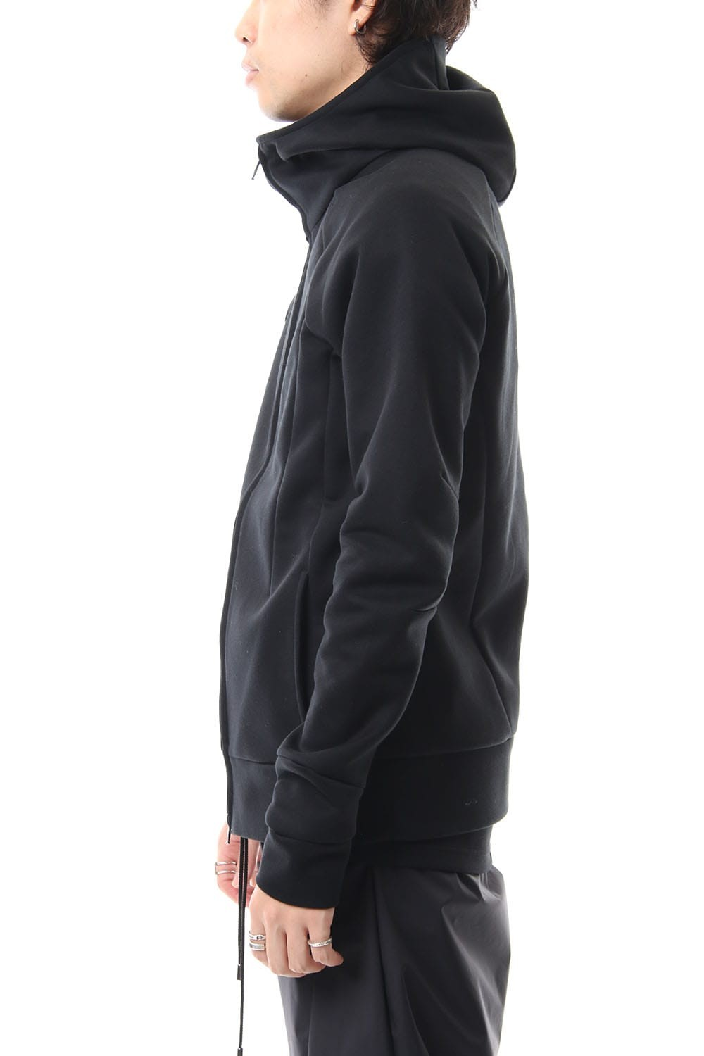 ZIP UP PARKA BLACK