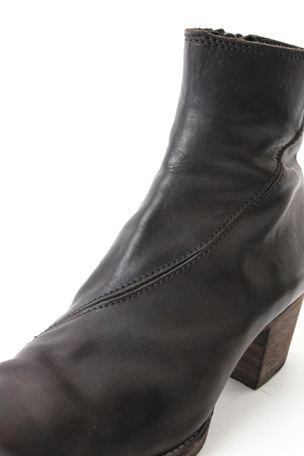 "16SS ""BULLET"" High Heel Twisted Seaming Boots"