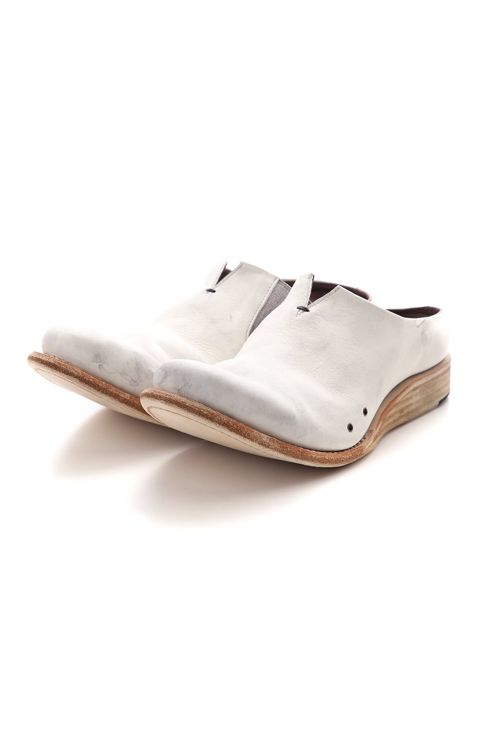 Sandal Guidi Calf - Dirty White