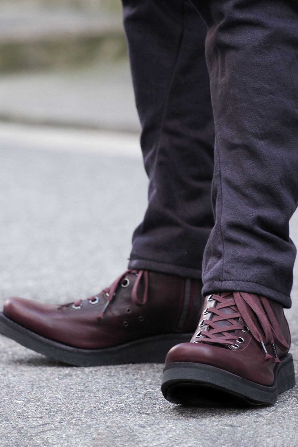 Monkey boots Horse leather - Bordeaux