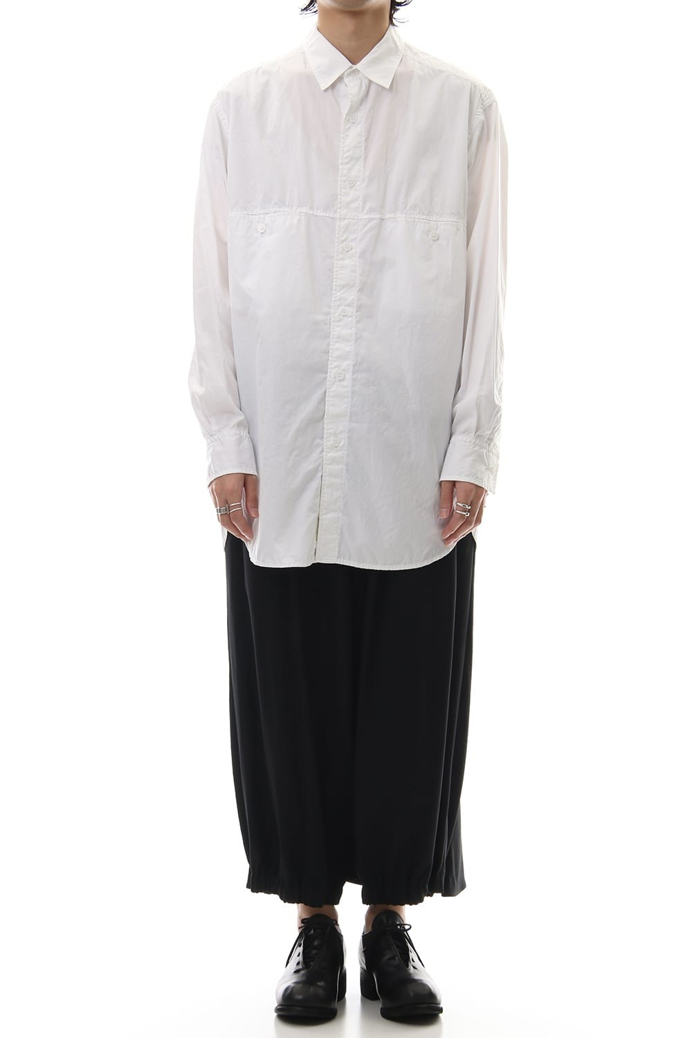 Front Switching Broad cloth Blouse