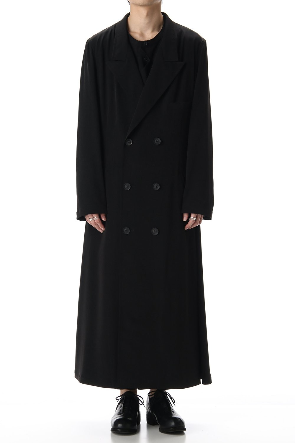 TA/Tuxedo Peaked Long dress