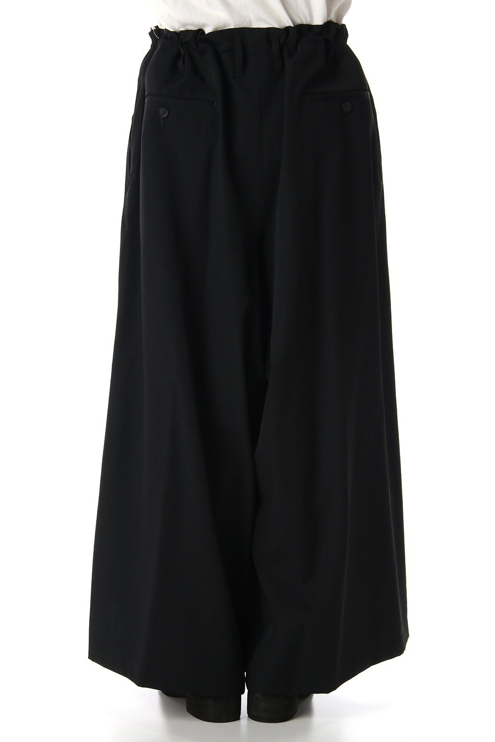Wool Gabardine Skirt pants