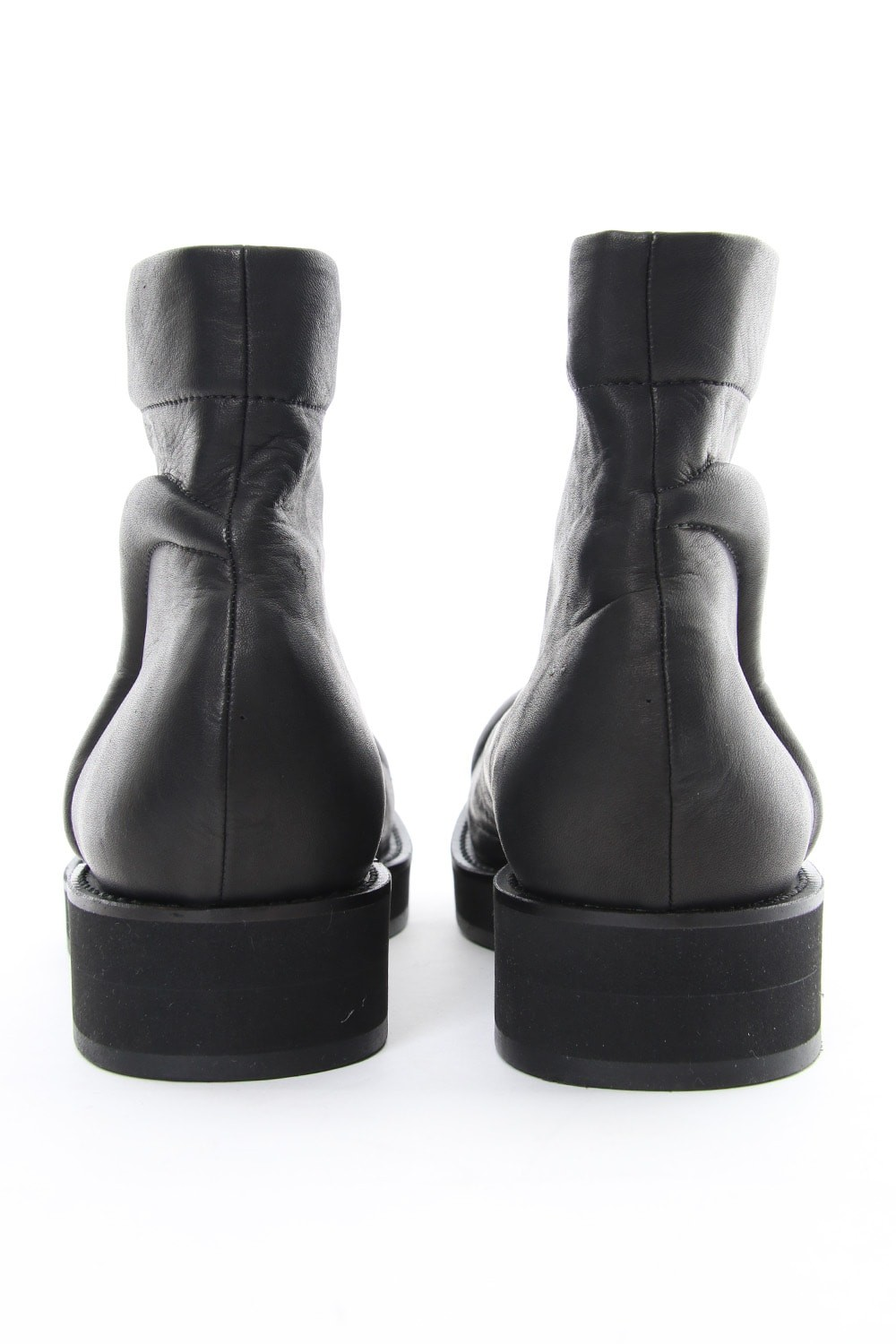 Front zipper sponge boots Smooth Soft Oil