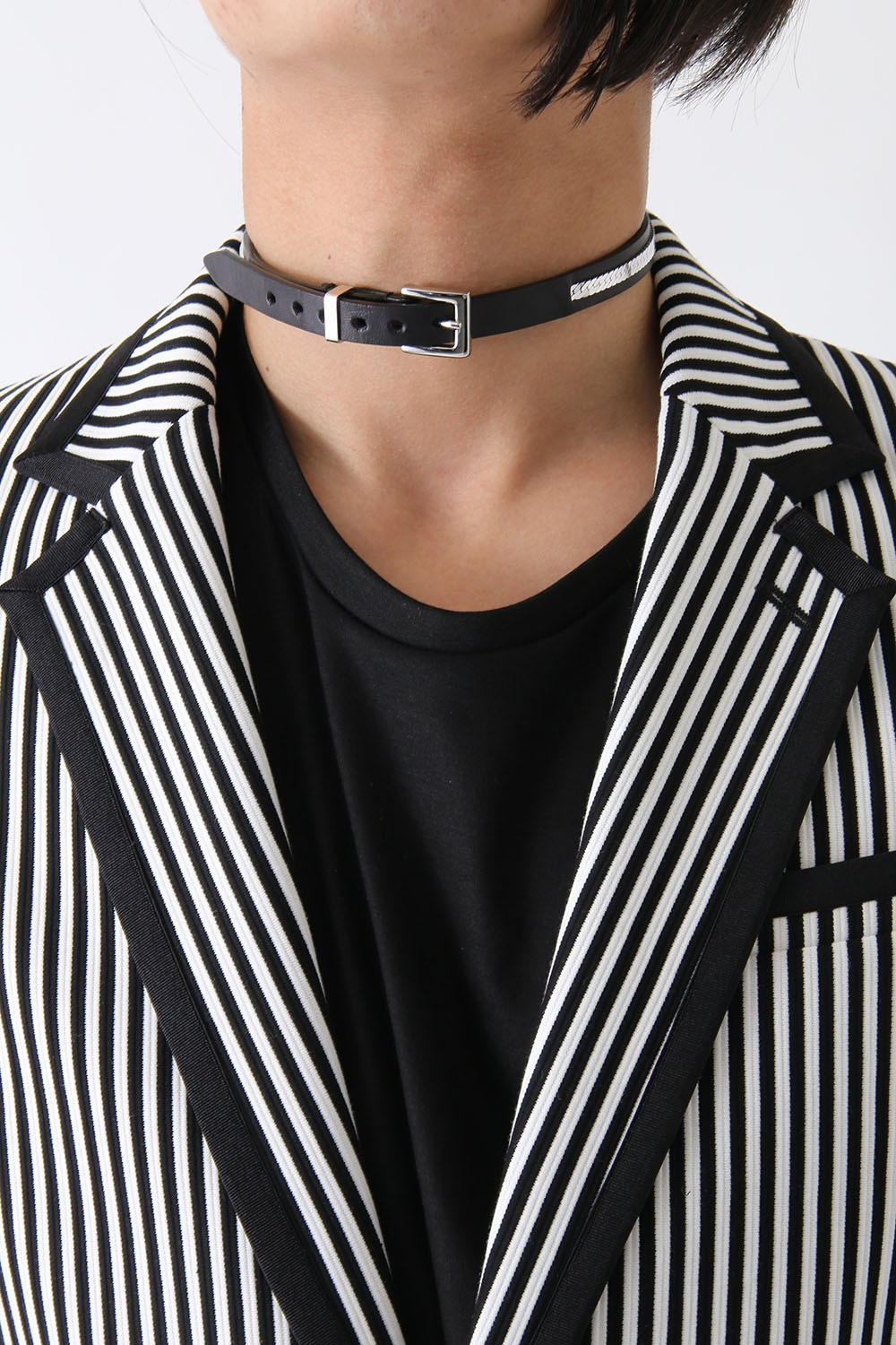 17SS Oil Cow + Chain Chocker BLACK x SILVER