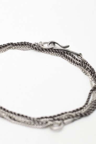 Necklace & Bracelet Silver