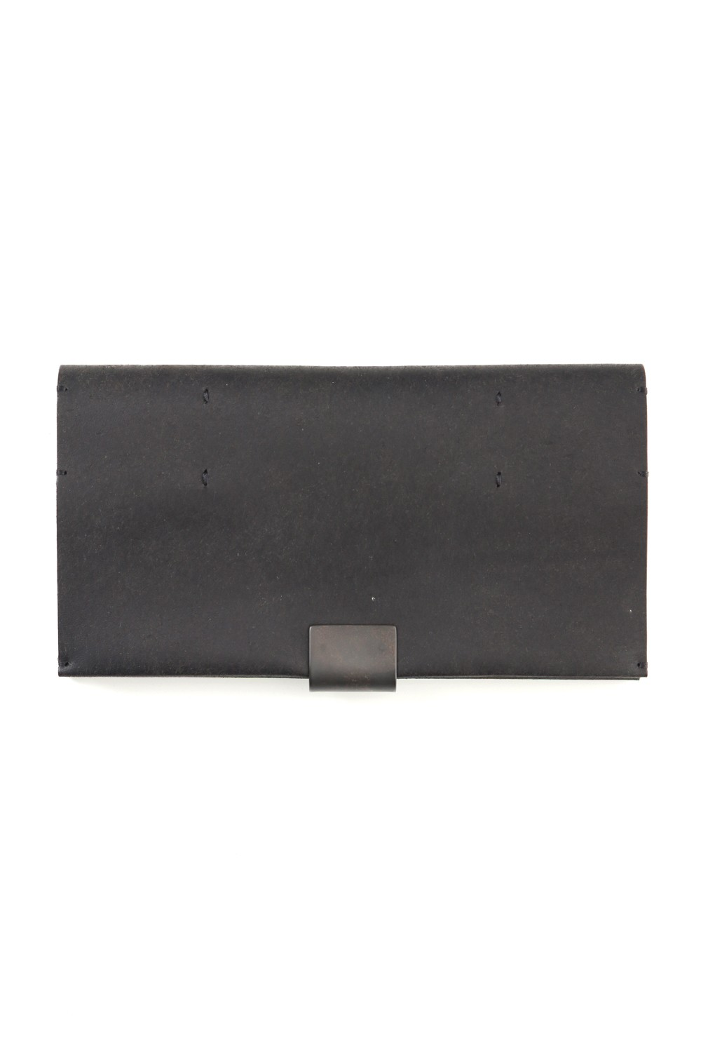 Cow Leather Long Wallet A - Havana Leather