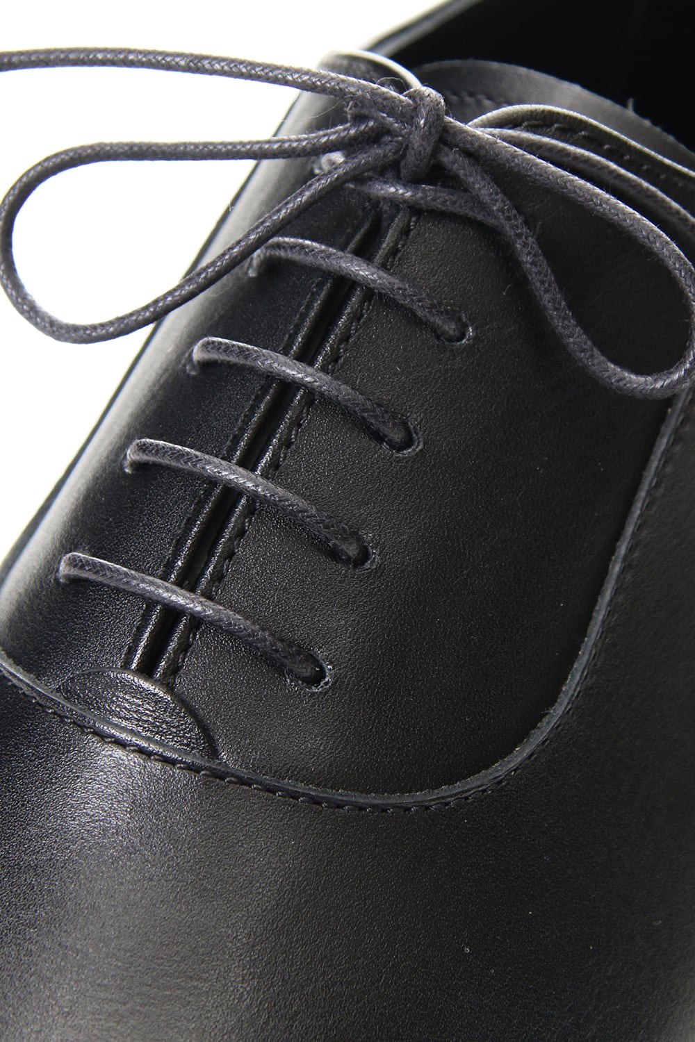 LEATHER STRAIGHT TIP SHOES