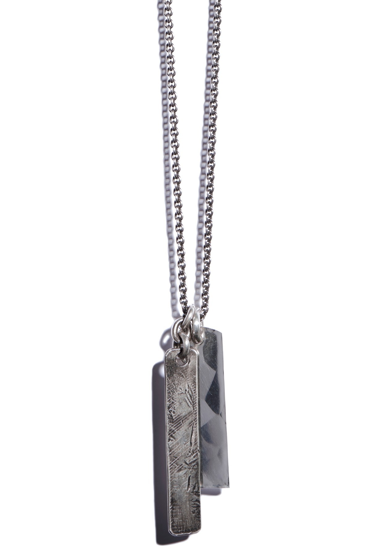 Necklace Two Long Tags