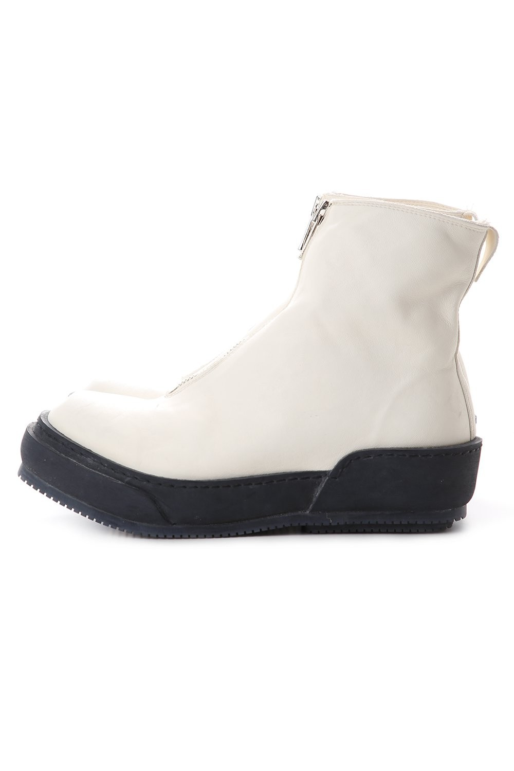 Soft Horse Full Grain Lined Front Zip Boots - PLS