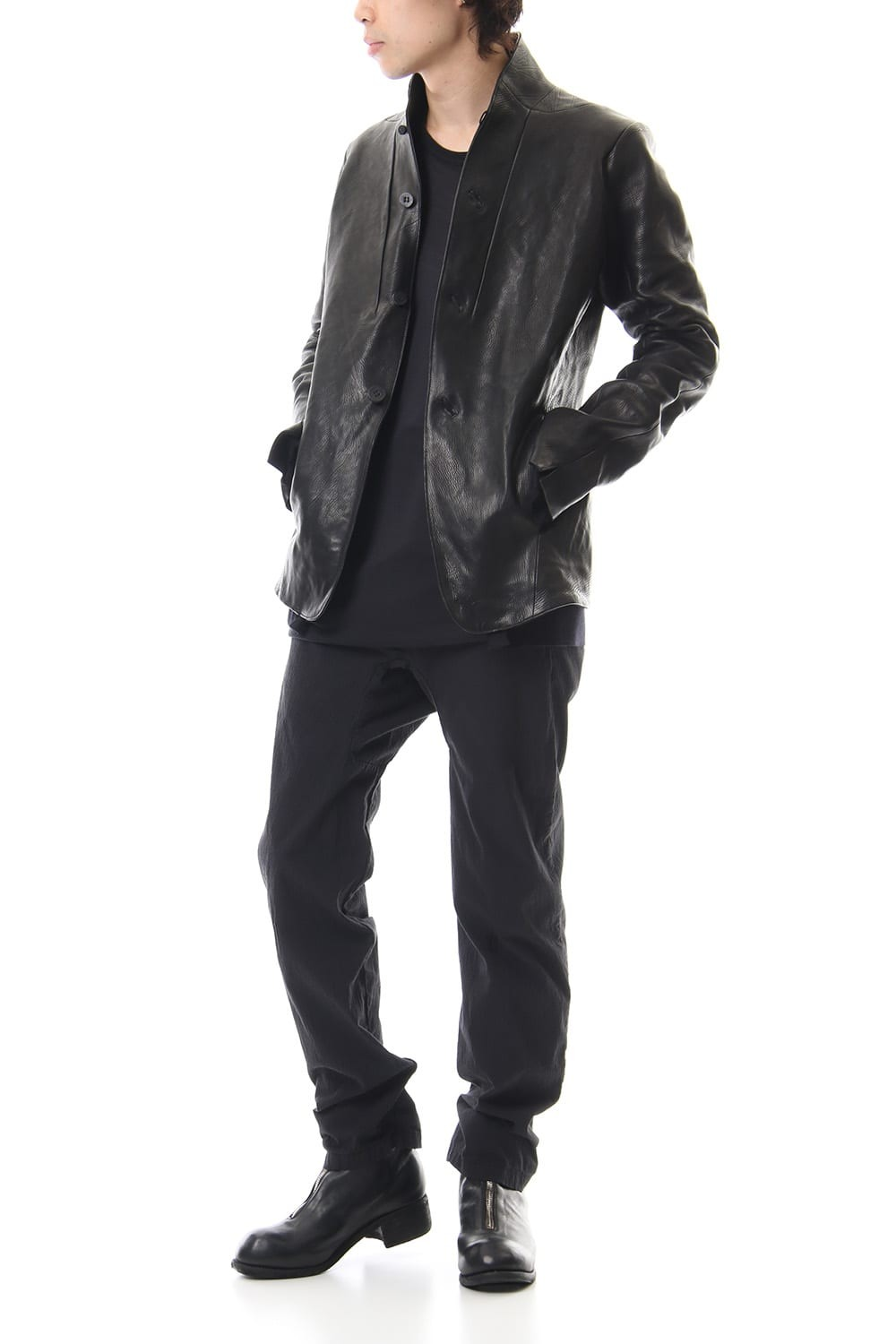 Limited Japan calf leather jacket - ST105-0029A