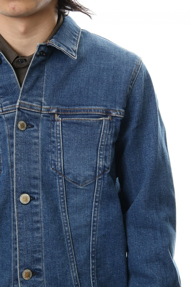 E Denim Processing G jacket - indigo