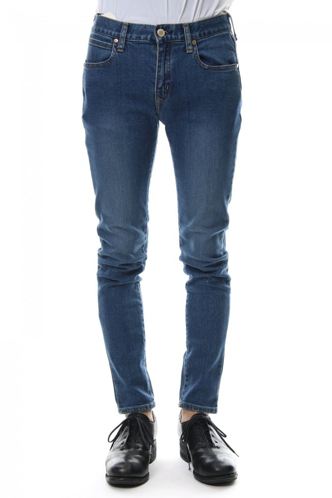 "E denim skinny pants ""WILLIAM"" - indigo"