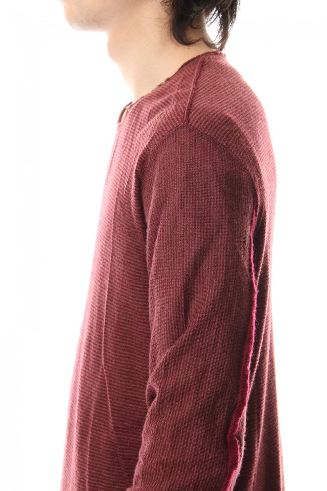 Baby Cashmere Border Knit