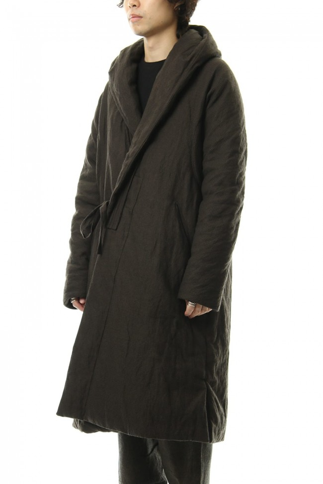 Over Sized Hooded Down Coat