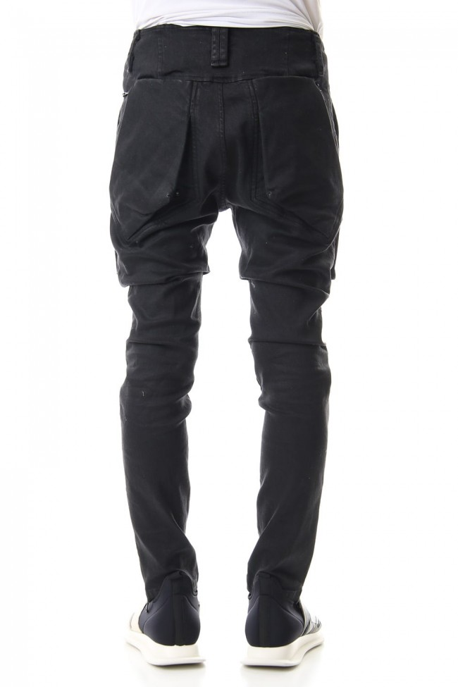 Concealed Geo Cargo jeans