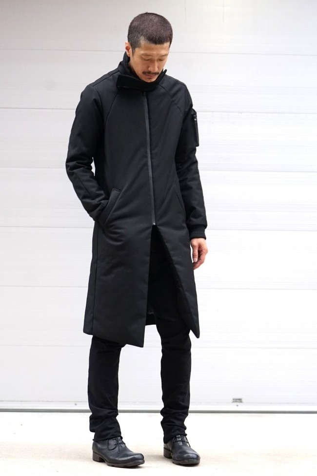 High Neck Down Coat (THIN DOWN)