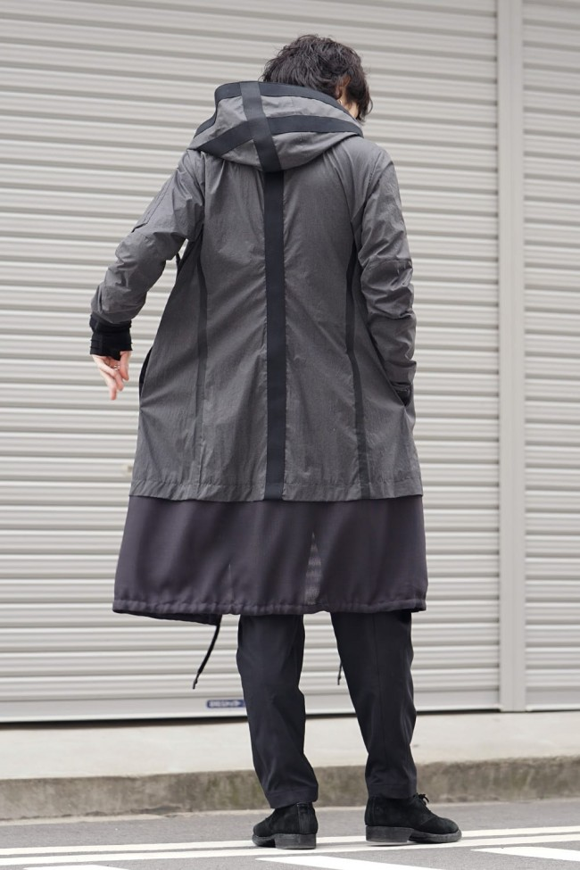 Coat Cotton Poplin Reflector