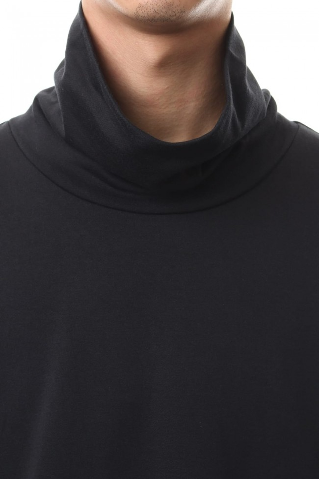TURTLE NECK TOPS Black