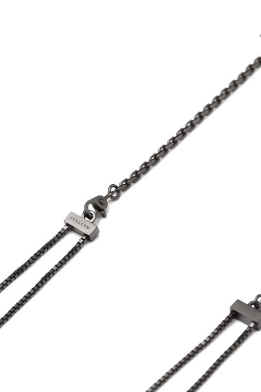 IVXLCDM STEP LONG CHAIN NECKLACE