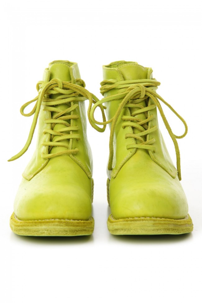 Military Lace Up Boots - Horse Full Grain Leather - CO47T