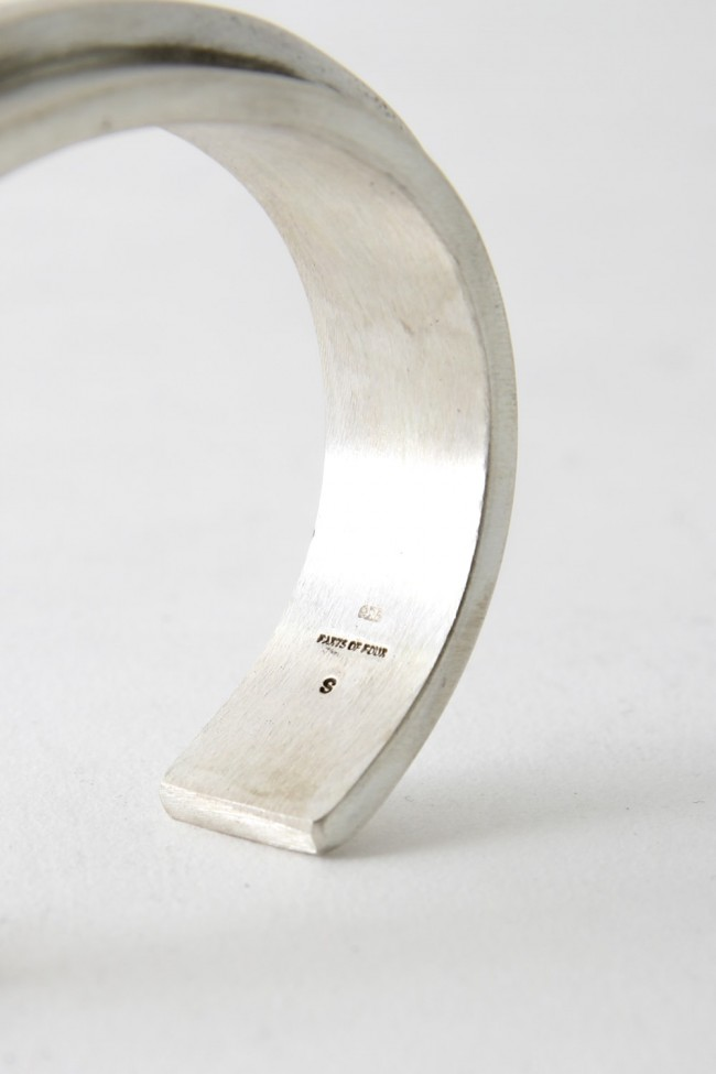 Parts of Four 17-18AW Ultra Reduction Ridge Bracelet 15mm MA