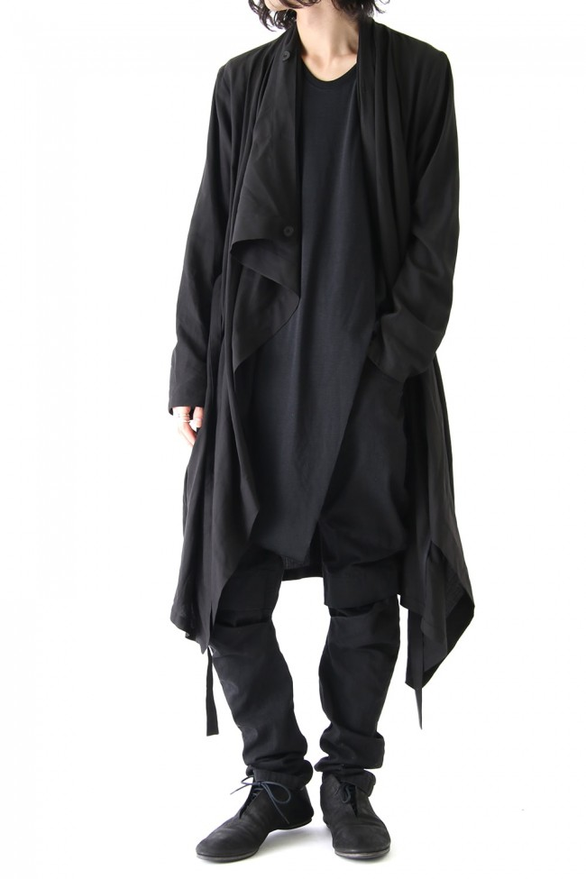 Draping Shirt Coat