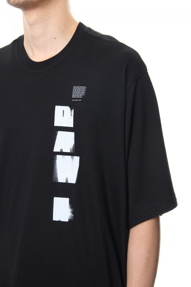 DAWN BIG T-SHIRT Black