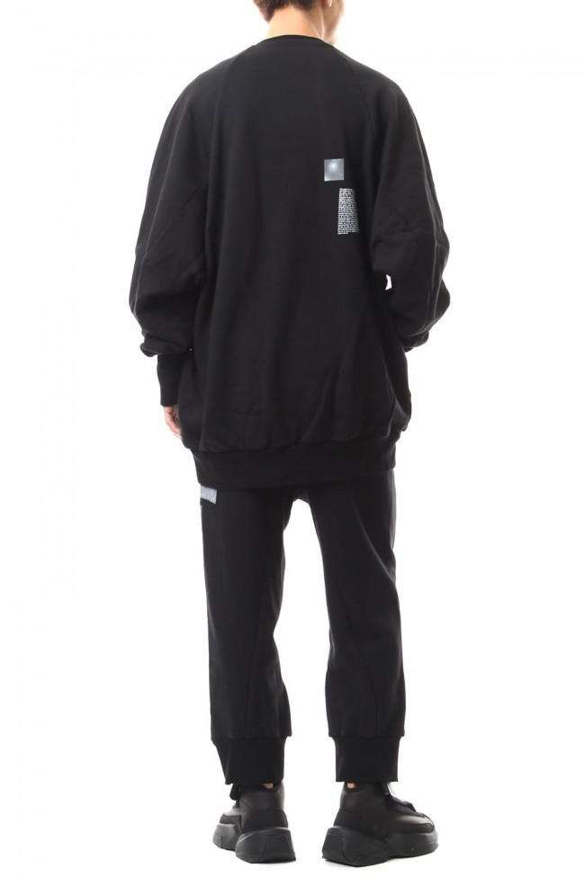 NIL BIG SWEAT Black