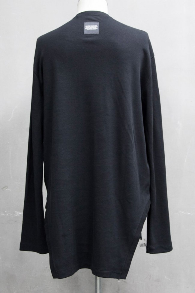 FRAMED HEM CARDIGAN Black