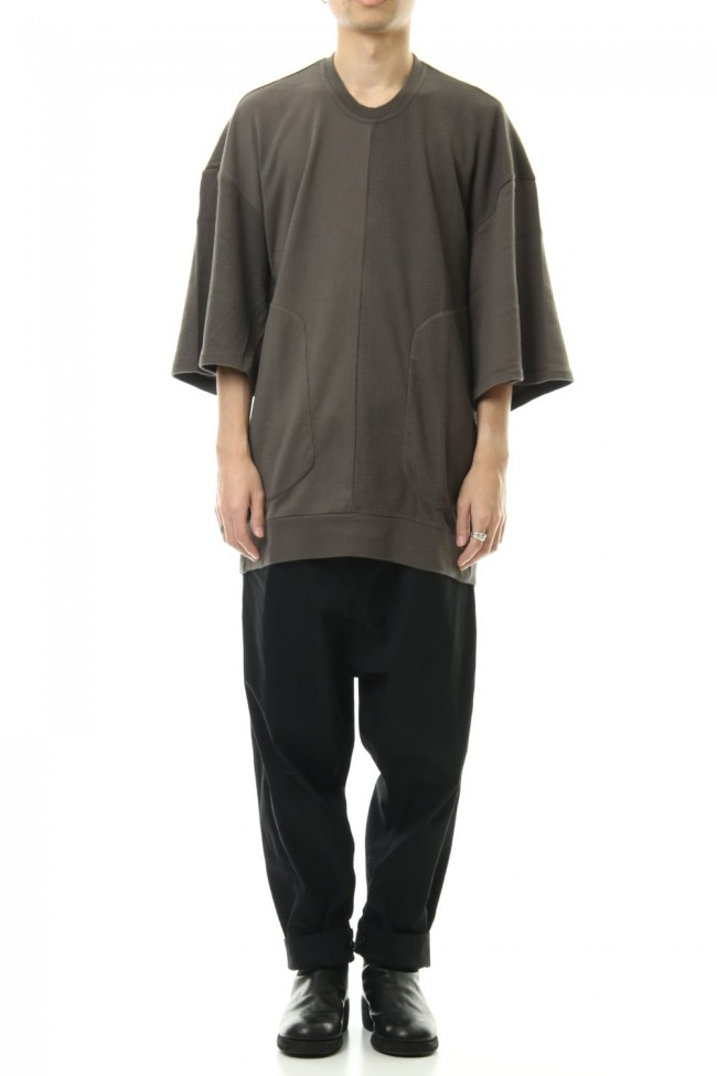 2 FACE OS T-SHIRT Mud Khaki