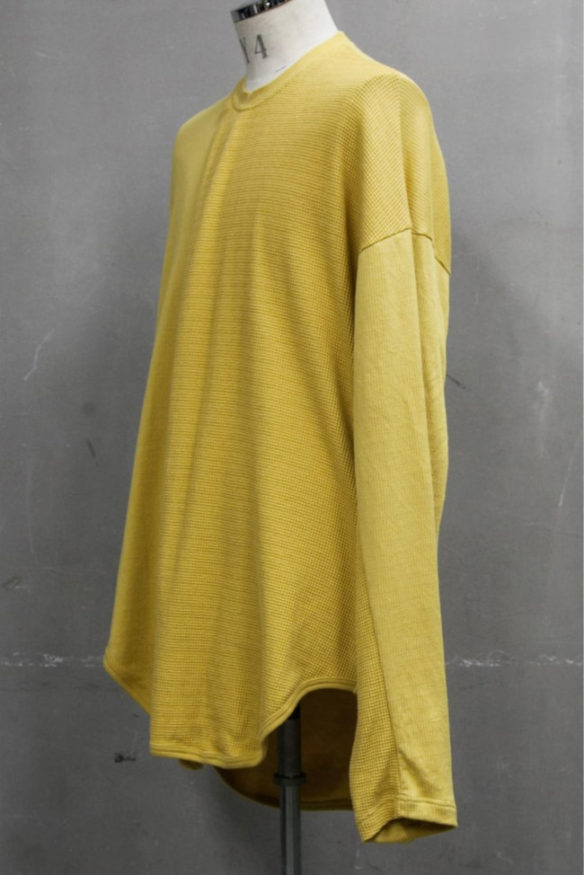 2 FACE TUCK SHIRT Mustard