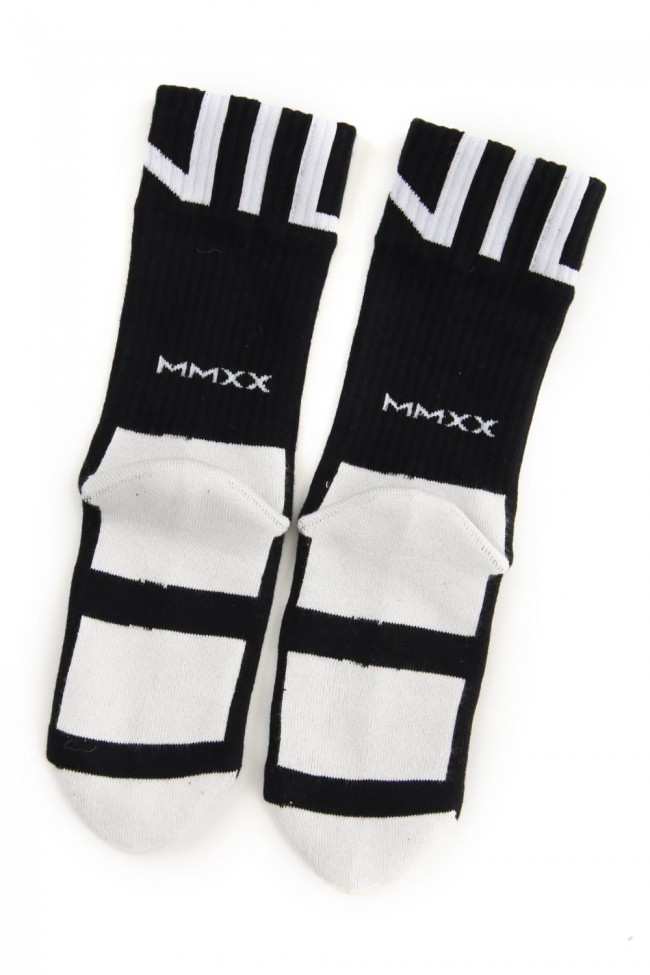 Graphic socks Black