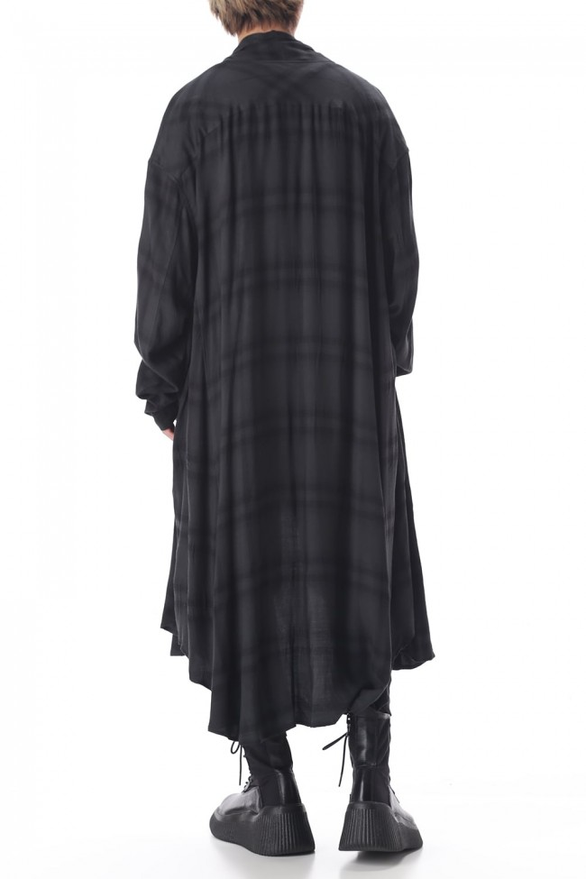 FLANNEL GOWN SHIRT
