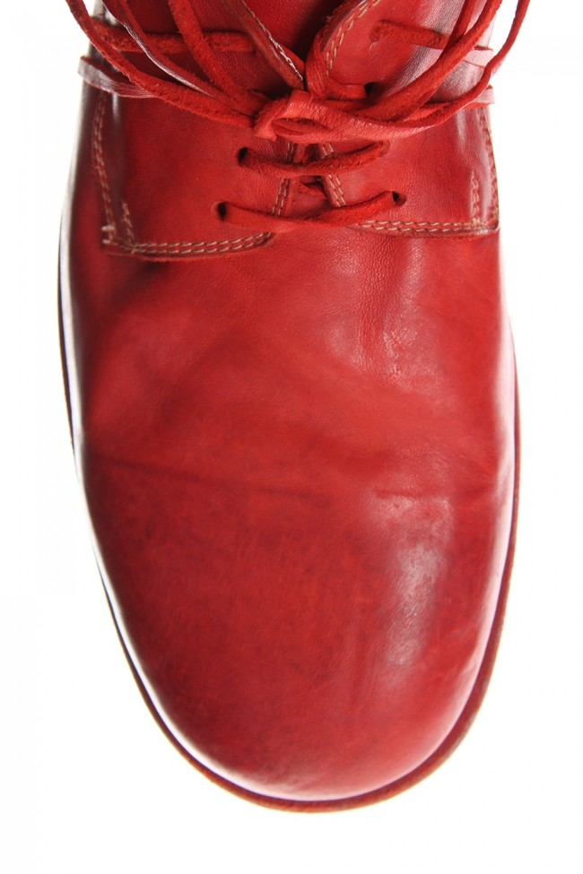 Classic Derby Shoes Laced Up Single Sole - 992 Horse Full Grain Leather