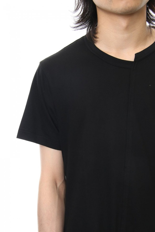 Diagonal Switch Short Sleeve Tee