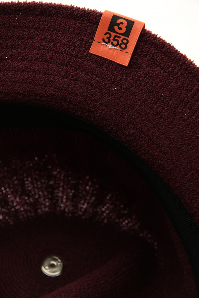 ¥€$ Bell Hat Bordeaux