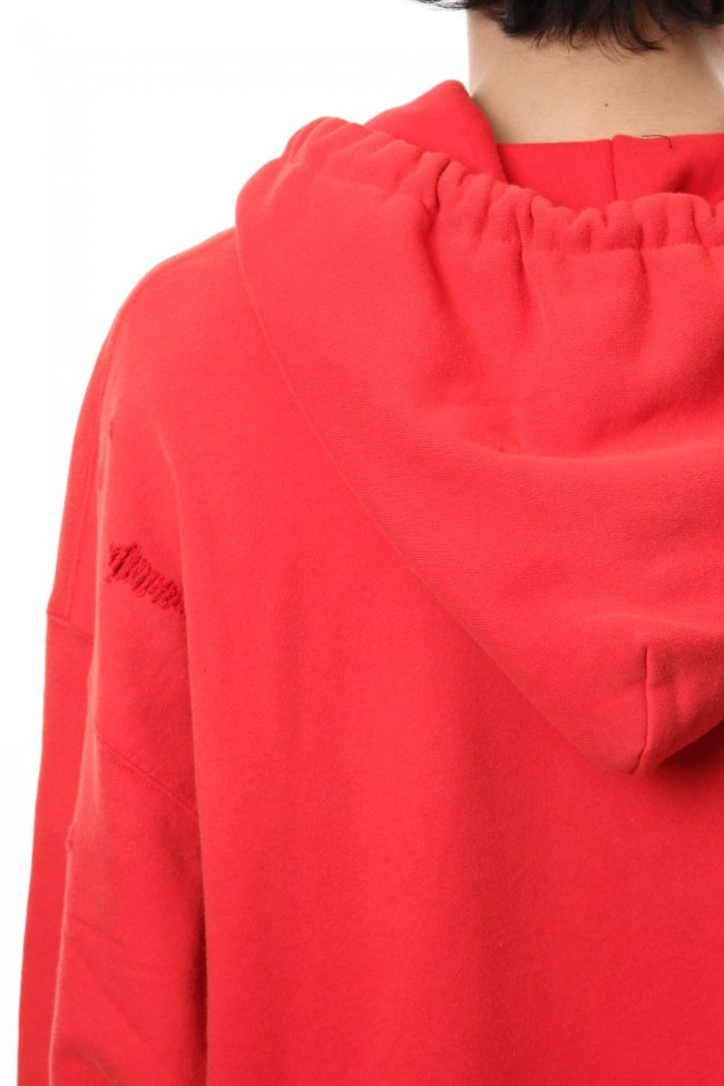 Damaged Hoodie Orange