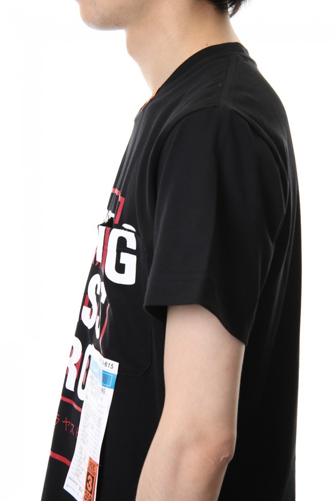 W.C.H Printed T-shirt Black