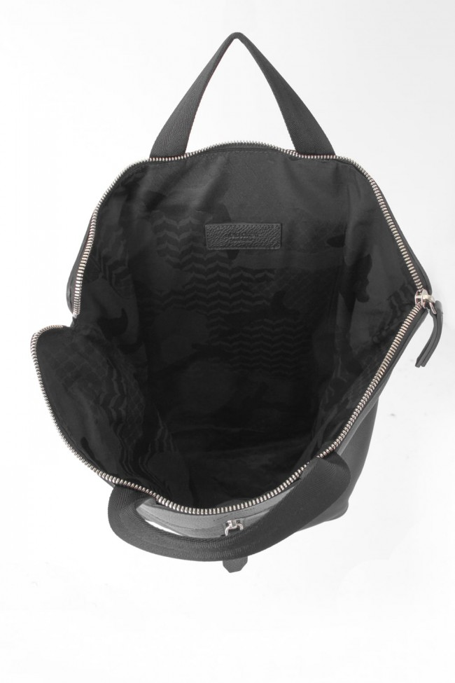 PEBBLE LEATHER BACK PACK