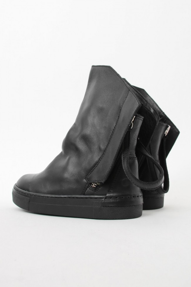 """16AW ARAIA KIDS """"JOY COLORS"""" NERO Double Strap Boots SIZE 30 (4〜5 Years old)"""