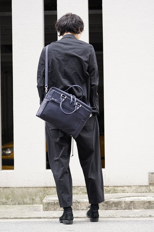 Connect brief - Glove Steer Leather Navy
