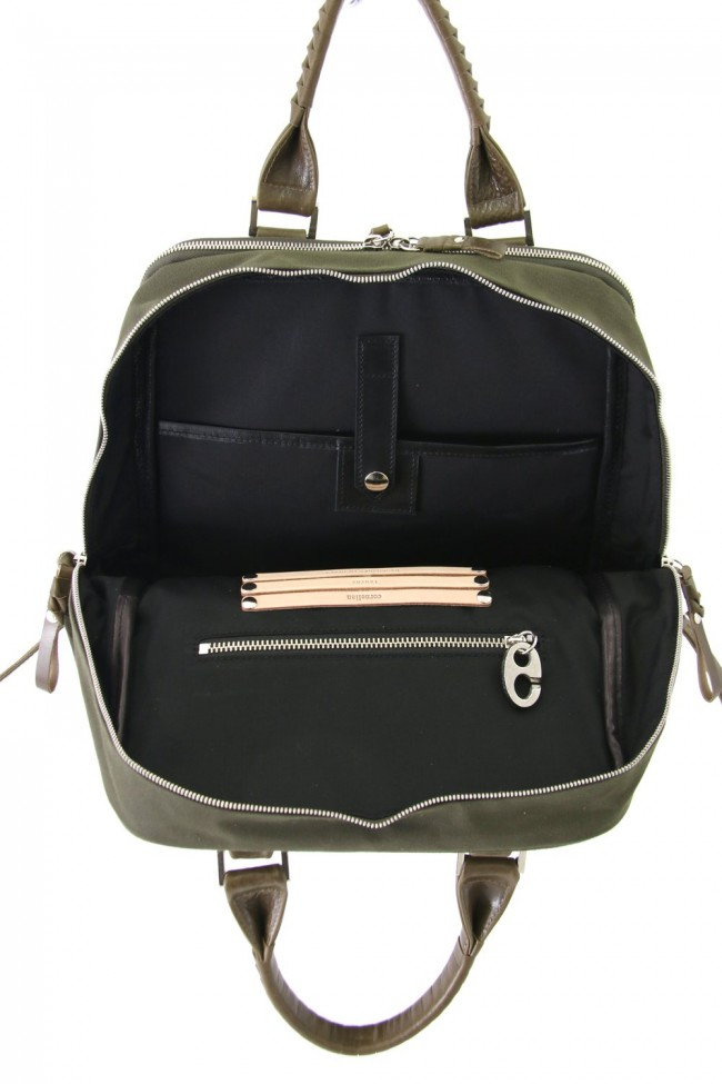 Connect Ruck 18 - Canvas × Steer Leather