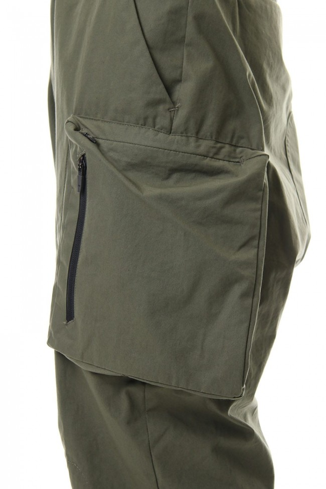 URBANE FLIGHT PANTS - MILITARY GREEN