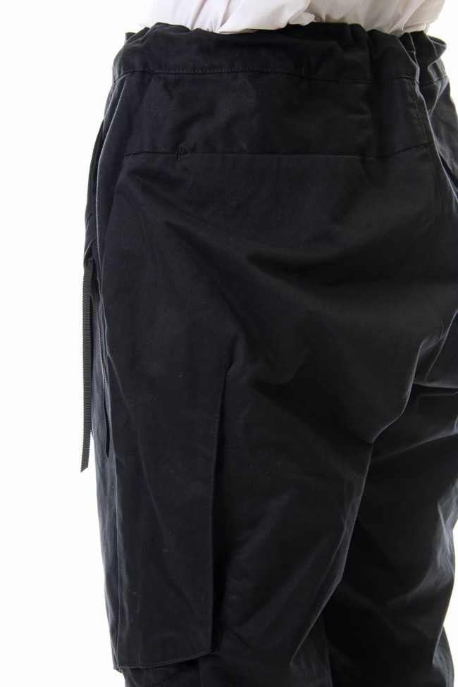 INVISIBLE CARGO PANTS - BLACK