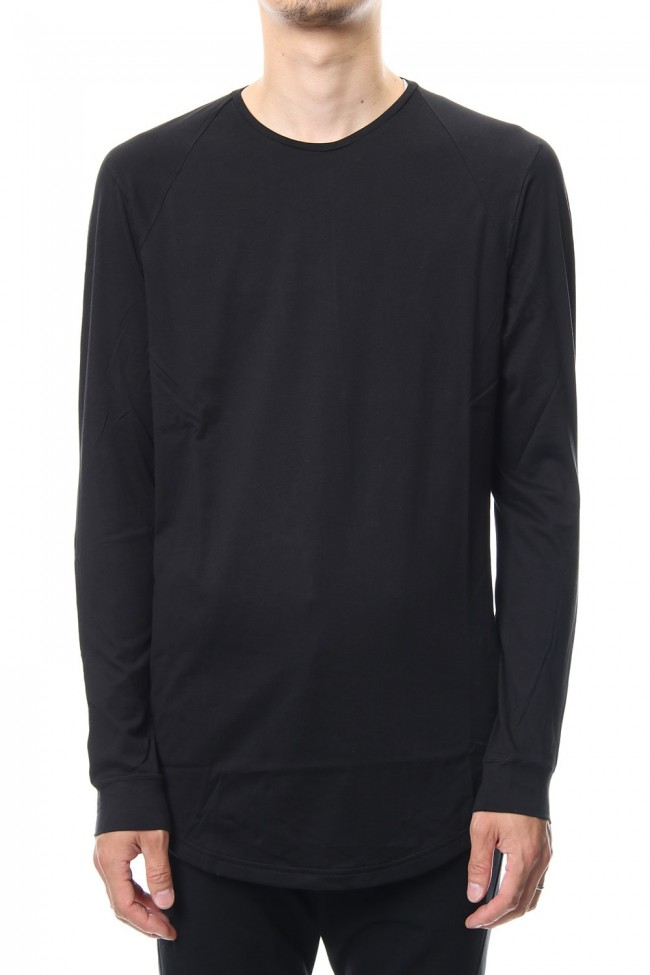 Long sleeve  egyptian cotton  jersey ( SUVIN ) Black