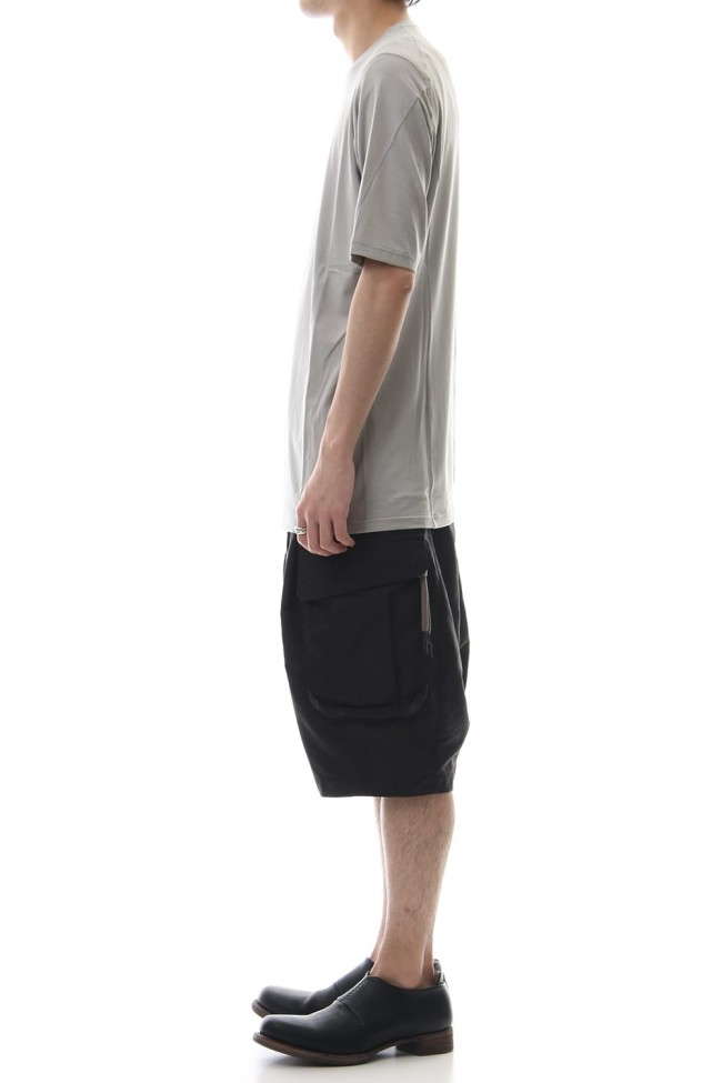 Short sleeve Cotton stretch jersey Loose fit - Plaster