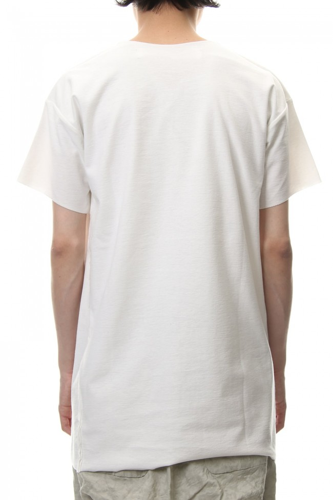 T-Shirts Basic Jersey White Print - CT56SP-LJ40