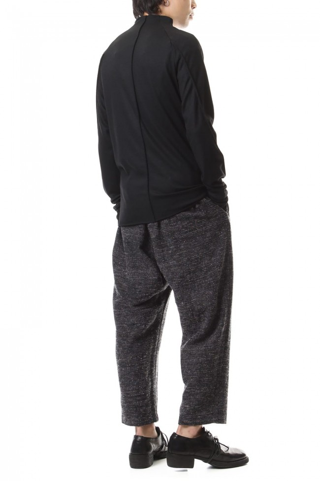 Washable Wool Jersey - CT66-MJ21 Black