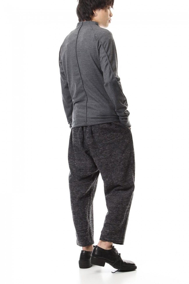 Washable Wool Jersey - CT66-MJ21 Charcoal